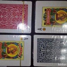 Barajas de cartas: LOTE 4 JUEGO DE BARAJAS -NAIPES ESPAÑOLES- A DESPRECINTAR,. Lote 68517513