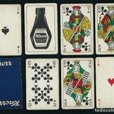 Barajas de cartas: BARAJA POKER, PUBLICIDAD KNORR 54 CARTAS. Lote 42070299