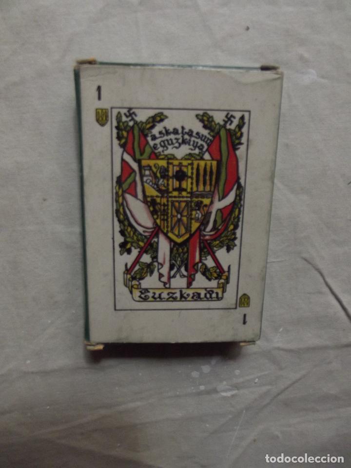 Barajas de cartas: NAIPE VASCO EUSKADI 1986 REEDICION DE LA DEL 1933 - Foto 2 - 84833470