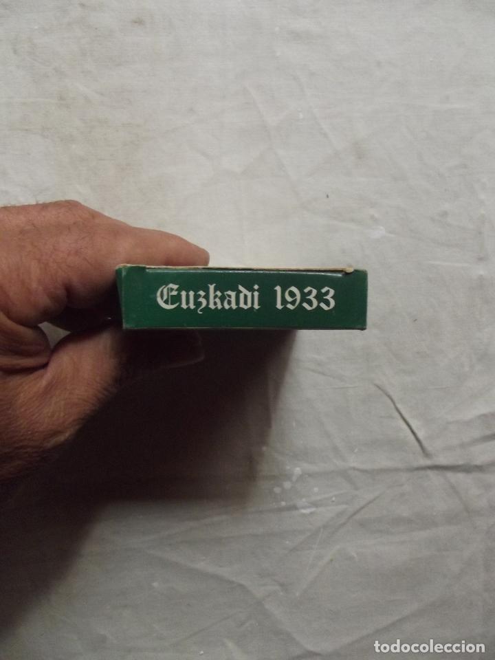 Barajas de cartas: NAIPE VASCO EUSKADI 1986 REEDICION DE LA DEL 1933 - Foto 4 - 84833470