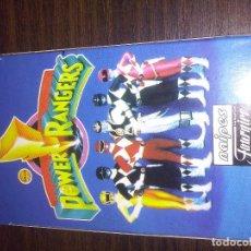 Barajas de cartas: BARAJA DE CARTAS HERACLIO FOURNIER DE POWER RANGERS AÑO 1995. Lote 68916929