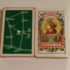 Barajas de cartas: BARAJA DE CARTAS HERACLIO FOURNIER PUBLICIDAD DURUELO PUEBLOS 40 CARTAS NAIPES. Lote 69022381
