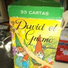 Barajas de cartas: BARAJA INFANTIL HERACLIO FOURNIER H.F.DAVID EL GNOMO TVE 1985.. Lote 105647310