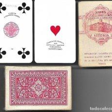 Barajas de cartas: BARAJA DE BRIDGE WHIST DEL 1939 MONTEVIDEO, 54 CARTAS, PRECINTADA Y SIN ESTRENAR. FOURNIER. DIFICIL.. Lote 178027114
