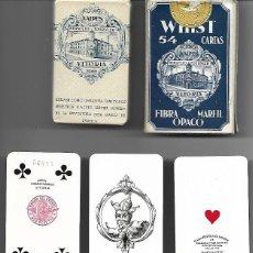 Barajas de cartas: BARAJA DE BRIDGE WHIST DEL 1939, BUENOS AIRES, 54 CARTAS, PRECINTADA SIN ESTRENAR, FOURNIER. DIFICIL. Lote 69355205
