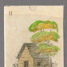 Jeux de cartes: BARAJA LA CABAÑA DEL TIO TOM. EEUU. SIGLO XIX (1825). REPRODUCCION. Lote 69618049