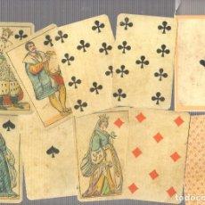 Jeux de cartes: BARAJA FIORENTINA ADAMI. ITALIA. SIGLO XIX (1850). REPRODUCCION. Lote 69624313
