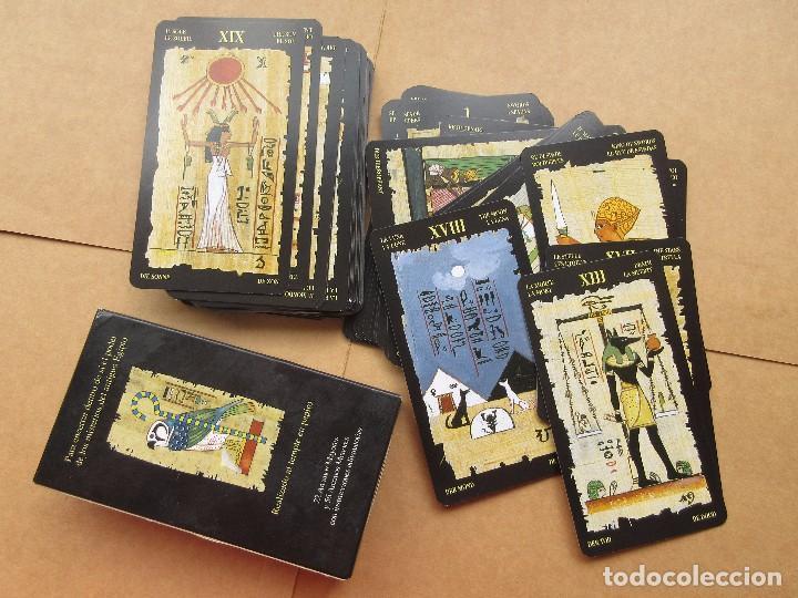 BARAJA DE TAROT EL TAROT EGIPCIO (Juguetes y Juegos - Cartas y Naipes - Barajas Tarot)