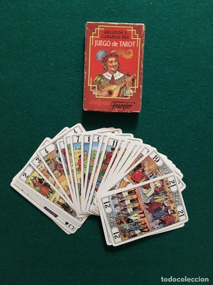 JUEGO DE TAROT (HERACLIO FOURNIER) (Juguetes y Juegos - Cartas y Naipes - Barajas Tarot)