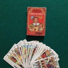 Barajas de cartas: JUEGO DE TAROT (HERACLIO FOURNIER). Lote 69880973