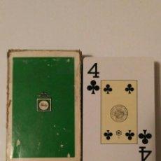 Barajas de cartas: BARAJA DE CARTAS HERACLIO FOURNIER PUBLICIDAD TONICA FINLEY 55 CARTAS POKER BRIDGE NAIPES. Lote 70195737