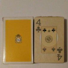 Barajas de cartas: BARAJA DE CARTAS HERACLIO FOURNIER PUBLICIDAD TONICA FINLEY 55 CARTAS POKER BRIDGE NAIPES PRECINTADA. Lote 70195957