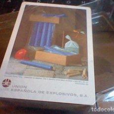 Barajas de cartas: BARAJA FOURNIER PUBLICIDAD UNION ESPAÑOLA EXPLOSIVOS POKER PRECINTADA . Lote 70225237