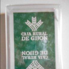 Barajas de cartas: CAJA RURAL DE GIJON. BARAJA ESPAÑOLA DE HERACLIO FOURNIER NUEVA A ESTRENAR. 120 GRAMOS.. Lote 70231929