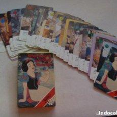 Barajas de cartas: BARAJA DE CARTAS DE BLANCANIEVES Y LOS SIETE ENANITOS, WALT DISNEY. DE FOURNIER. Lote 70284449