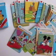 Barajas de cartas: BARAJA MICKEY MOUSE FOURNIER. Lote 70297101