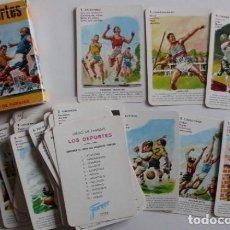 Barajas de cartas: BARAJA LOS DEPORTES FOURNIER. Lote 70345829