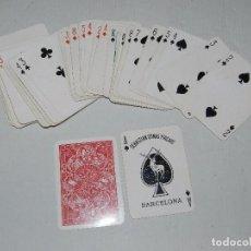 Barajas de cartas: (M) BARAJA - NAIPES SEBASTIAN COMAS Y RICART , BARCELONA, 52 CARTAS ( COMPLETA ), BUEN ESTADO. Lote 70347937