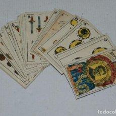Barajas de cartas: (M) NAIPES - BARAJA CINEMATOGRAFICA CHARLES CHAPLIN, CHOCOLATES JAIME BOIX, A FALTA DE UNA CARTA. Lote 70348881