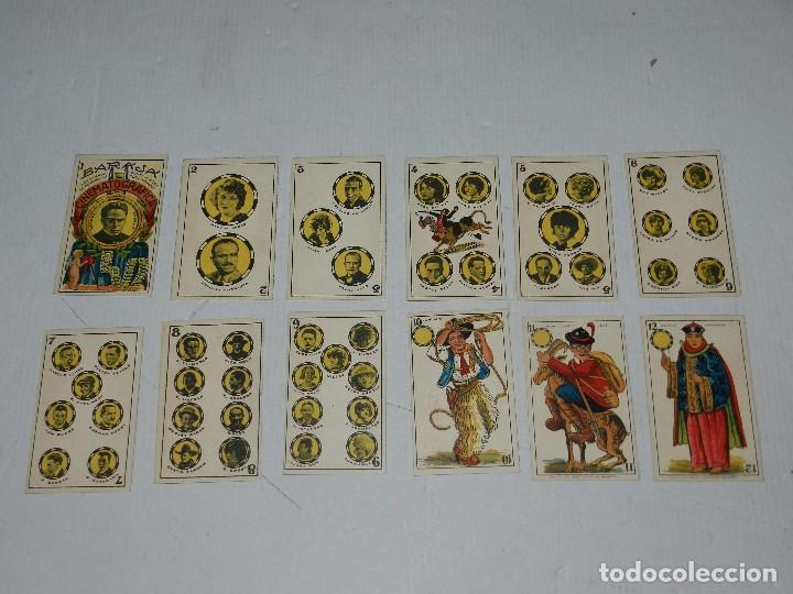 Barajas de cartas: (M) NAIPES - BARAJA CINEMATOGRAFICA CHARLES CHAPLIN, CHOCOLATES JAIME BOIX, A FALTA DE UNA CARTA - Foto 2 - 70348881