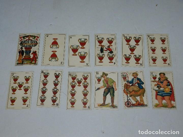 Barajas de cartas: (M) NAIPES - BARAJA CINEMATOGRAFICA CHARLES CHAPLIN, CHOCOLATES JAIME BOIX, A FALTA DE UNA CARTA - Foto 4 - 70348881