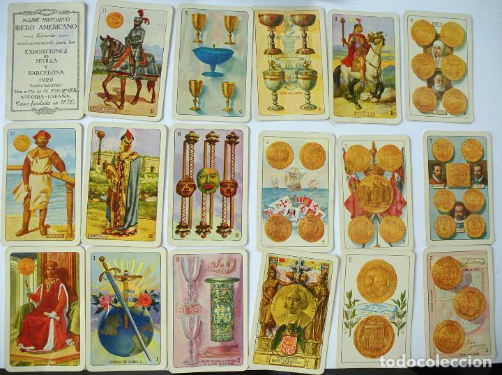 BARAJA EXPOSICIÓN BARCELONA IBEROAMERICANA 1929 .ORIGINAL (Juguetes y Juegos - Cartas y Naipes - Baraja Española)