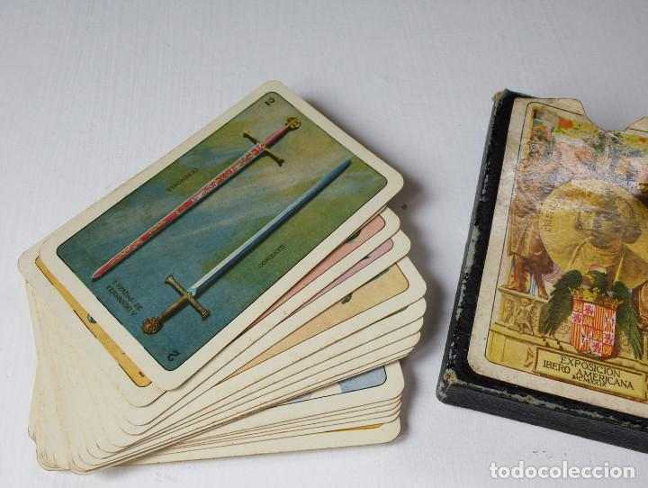 Barajas de cartas: BARAJA EXPOSICIÓN BARCELONA IBEROAMERICANA 1929 .ORIGINAL - Foto 3 - 70359165
