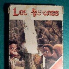 Barajas de cartas: BARAJA INFANTIL - JUEGO DE CARTAS PARA NIÑOS - FOURNIER - LOS AURONES - COMPLETA -. Lote 71114269