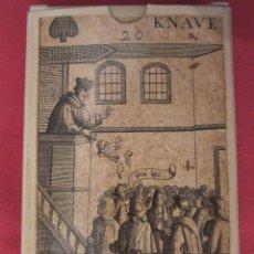 Barajas de cartas: BARAJA REVOLUCIÓN. ISLAS BRITÁNICAS, SIGLO XVII (1689) FACSÍMIL. Lote 71212497