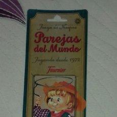 Barajas de cartas: BARAJA DE CARTAS PAREJAS DEL MUNDO . Lote 71416127
