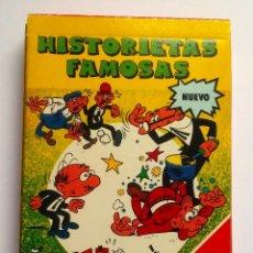 Jeux de cartes: BARAJA INFANTIL HISTORIETAS FAMOSAS. Lote 71506715