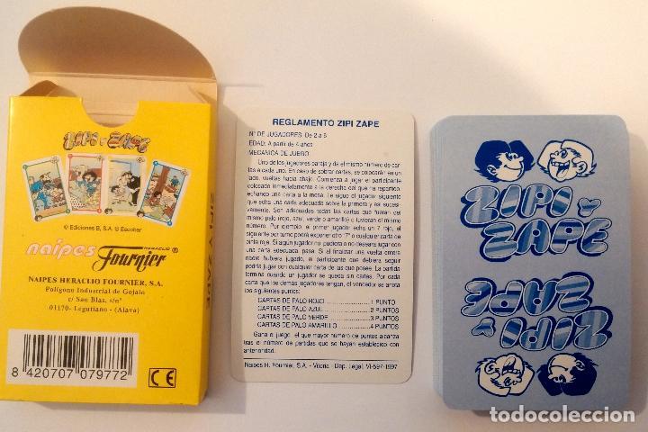 Barajas de cartas: Baraja infantil ZIPI Y ZAPE - Foto 2 - 158705282
