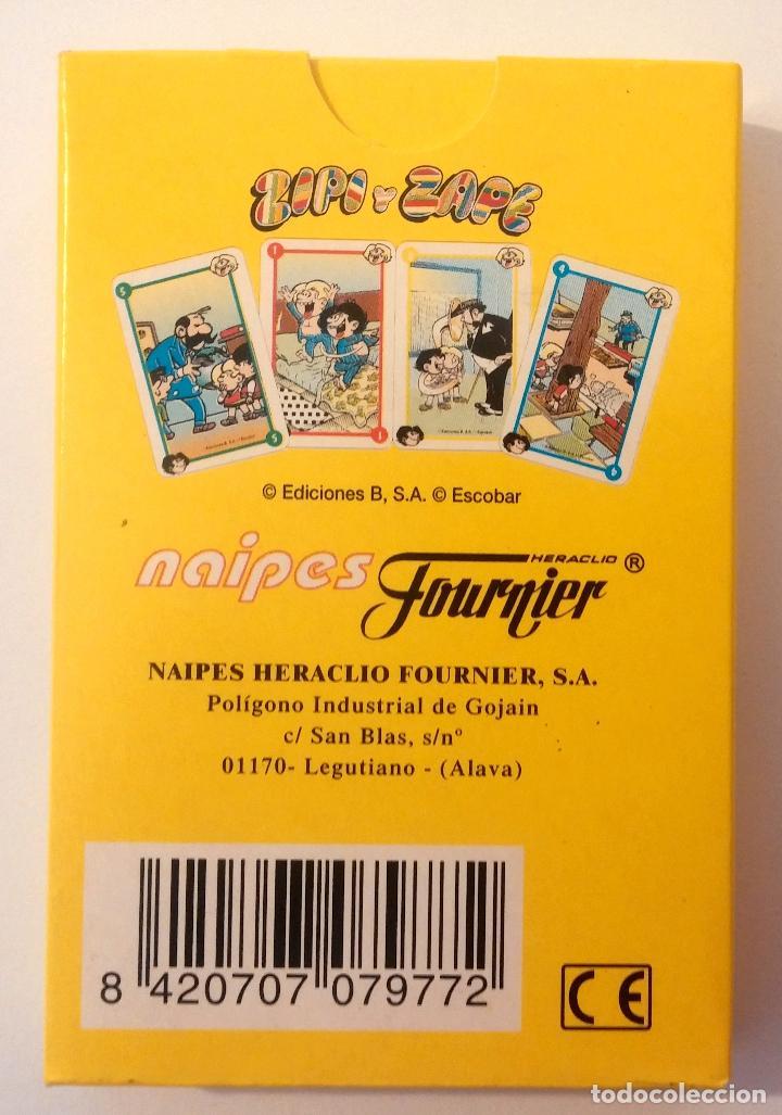 Barajas de cartas: Baraja infantil ZIPI Y ZAPE - Foto 3 - 158705282