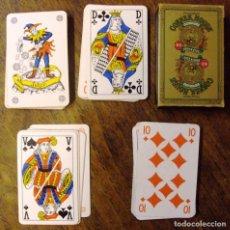 Barajas de cartas: JUEGO DE NAIPES DE ORIGEN HOLANDA COMPLETO CARTAS BRIDGE LETRAS VERDES. Lote 71513971