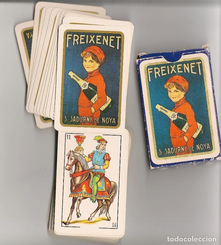 BARAJA PUBLICITARIA FREIXENET - NAIPES COMAS (Juguetes y Juegos - Cartas y Naipes - Otras Barajas)