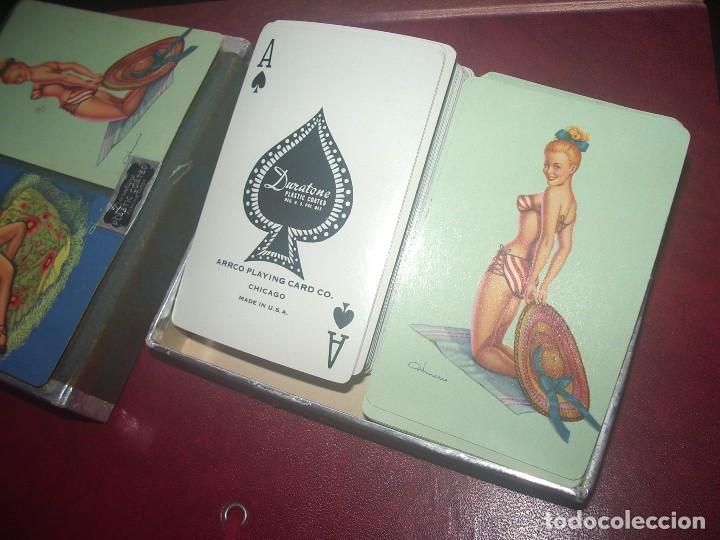 Barajas de cartas: Estuche Par de BARAJAS Poker, PIN UP - Foto 4 - 71830143