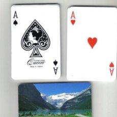 Barajas de cartas: BARAJA DE POKER CON REVERSO DE PAISAJE SUIZO (NUEVA). Lote 71848139