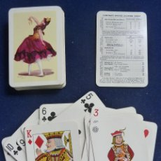 Barajas de cartas: BARAJA FOURNIER. BAILARINA. EN SU ESTUCHE ORIGINAL. Lote 71914475
