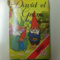 Barajas de cartas: BARAJA INFANTIL FOURNIER DAVID EL GNOMO CON INSTRUCCIONES.. Lote 72062071