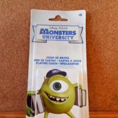 Barajas de cartas: BARAJA CARTAS MONSTERS UNIVERSITY ( DISNEY / PIXAR ). Lote 72108283