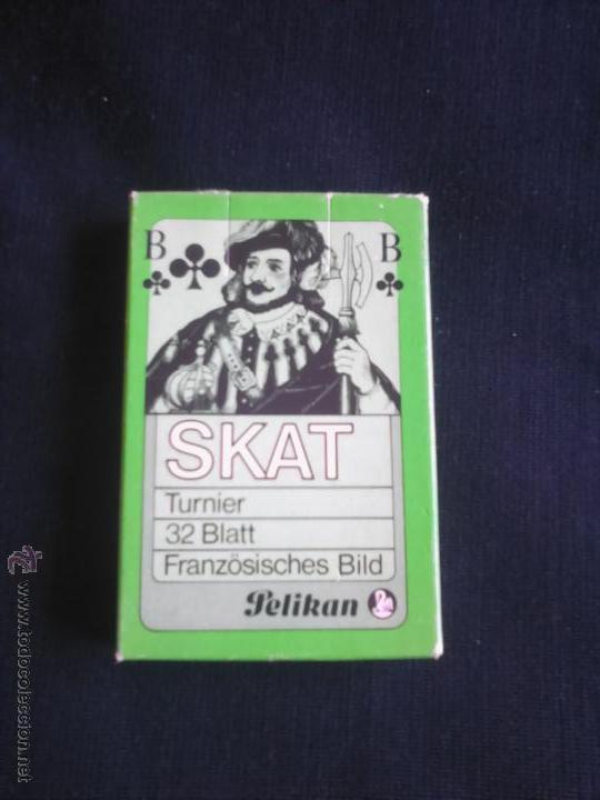 Barajas de cartas: BARAJA DE CARTAS SKAT. PUBLICIDAD PELIKAN. - Foto 2 - 72760395