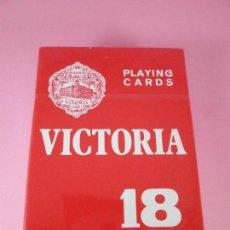 Barajas de cartas: BARAJA/CARTAS/NAIPES PÓKER-HERACLIO FOURNIER VICTORIA-Nº18-54 CARTAS-PRECINTADA-NOS-VER FOT. Lote 72770415