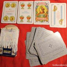 Barajas de cartas: BARAJA ESPAÑOLA, HERACLIO FOURNIER, OPACO MARFIL, Nº 1, 40 CARTAS. Lote 72899571