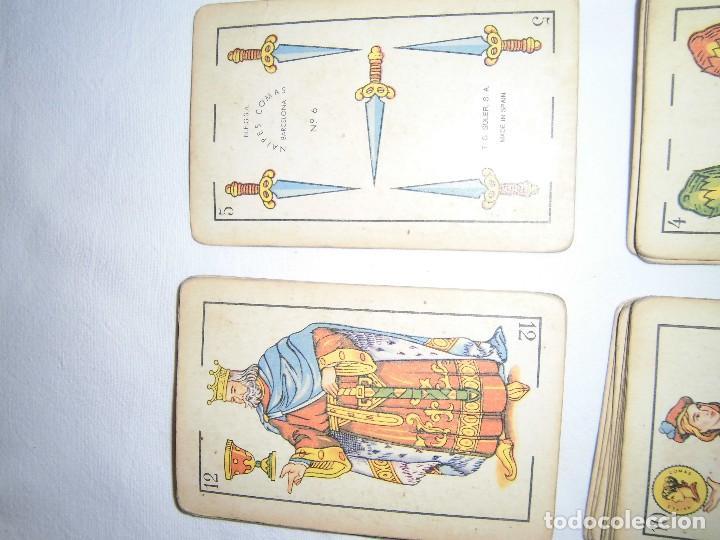 Barajas de cartas: baraja de cartas n.6 naipes comas - Foto 2 - 72900199