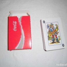 Barajas de cartas: BARAJA ESPAÑOLA NUEVA DE COCA COLA. Lote 72903063