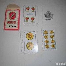 Barajas de cartas: BARAJA ESPAÑOLA NUEVA DE REIG EL PURITO. Lote 72903455