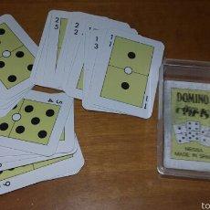 Barajas de cartas: BARAJA MINIATURA DE CARTAS - DOMINO - CARTAS COMAS - PB20. Lote 72925319