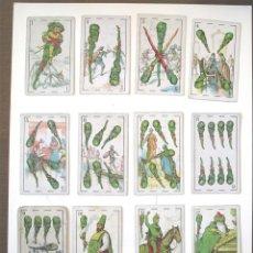 Barajas de cartas - Baraja completa Chocolates Juncosa, El Quijote de la Mancha, cada carta viñeta texto diferente - 72934551
