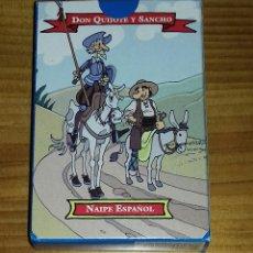 Barajas de cartas: BARAJA DE CARTAS DON QUIJOTE Y SANCHO . Lote 73423371