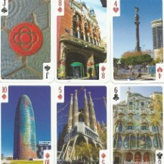 Barajas de cartas: BARCELONA - MONSO Y BENET - BARAJA POKER. Lote 158576500